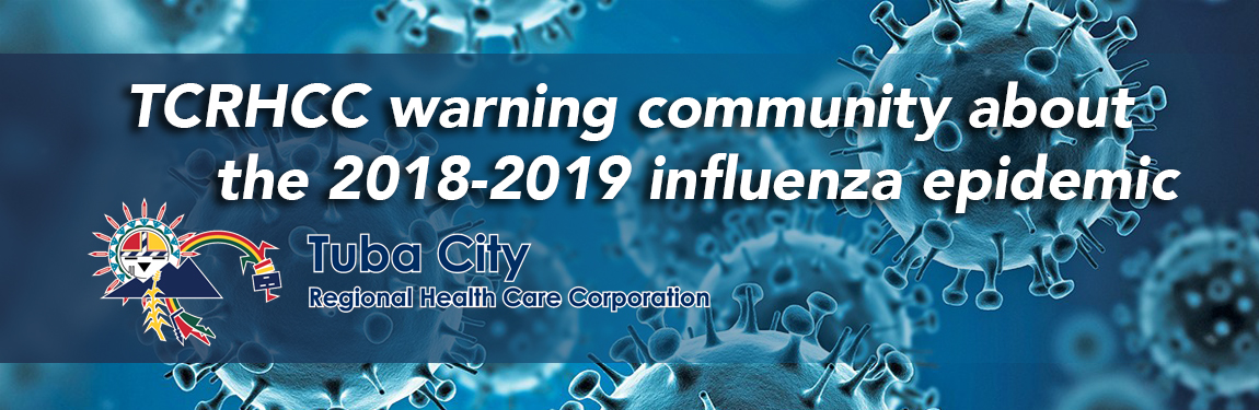 warning community about the 2018-2019 influenza epidemic