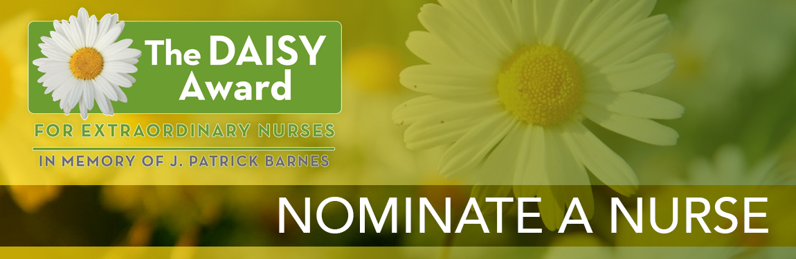 Daisy Award Nominate a Nurse